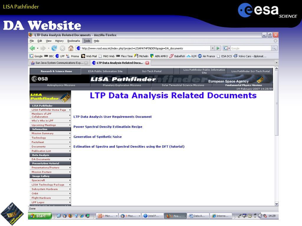 DA Website