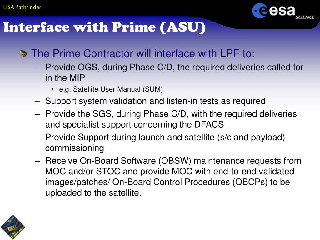 Interface with Prime (ASU)