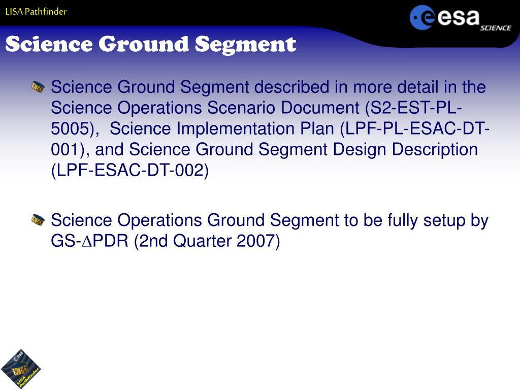 Science Ground Segment