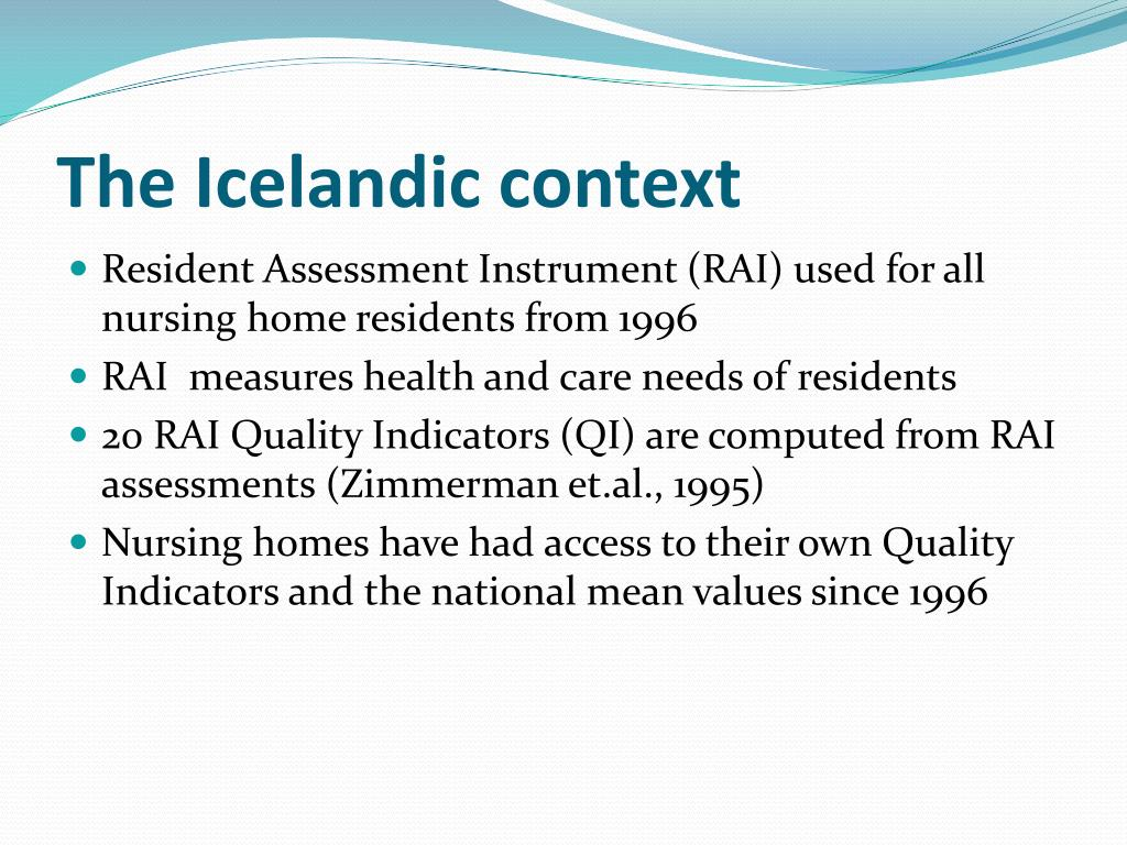 The Icelandic context