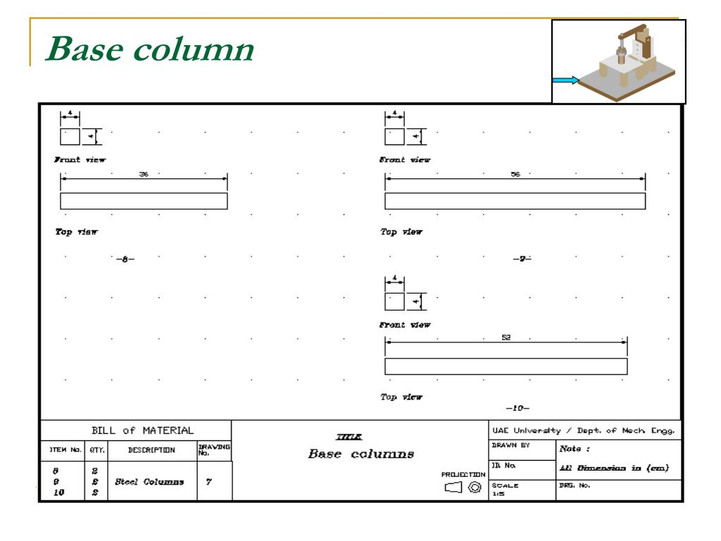 Base column