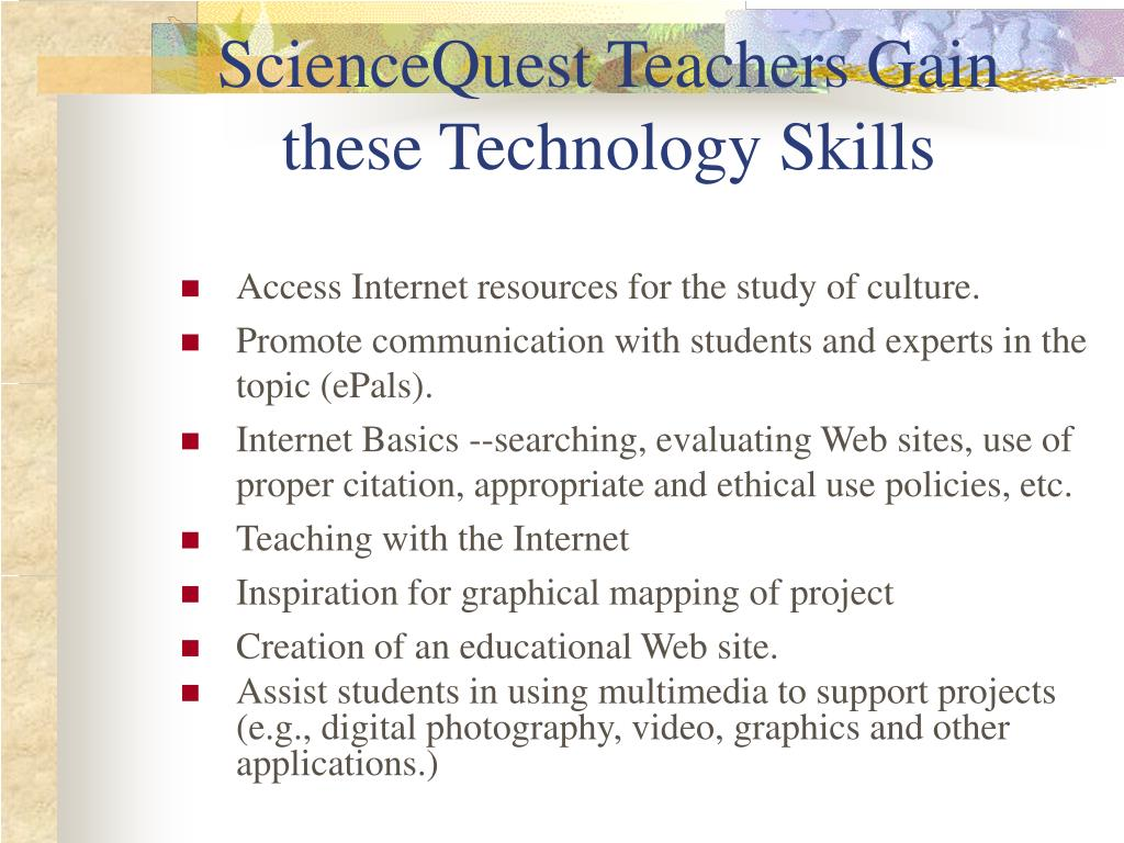 Access Internet resources for the study of culture.