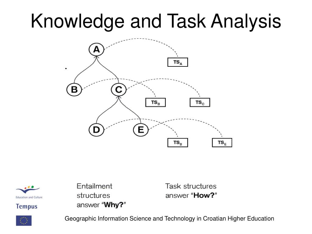 Knowledge and Task Analysis