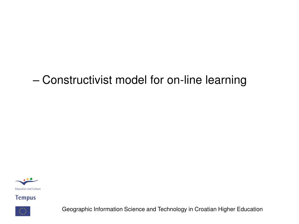 Constructivist model for on-line learning