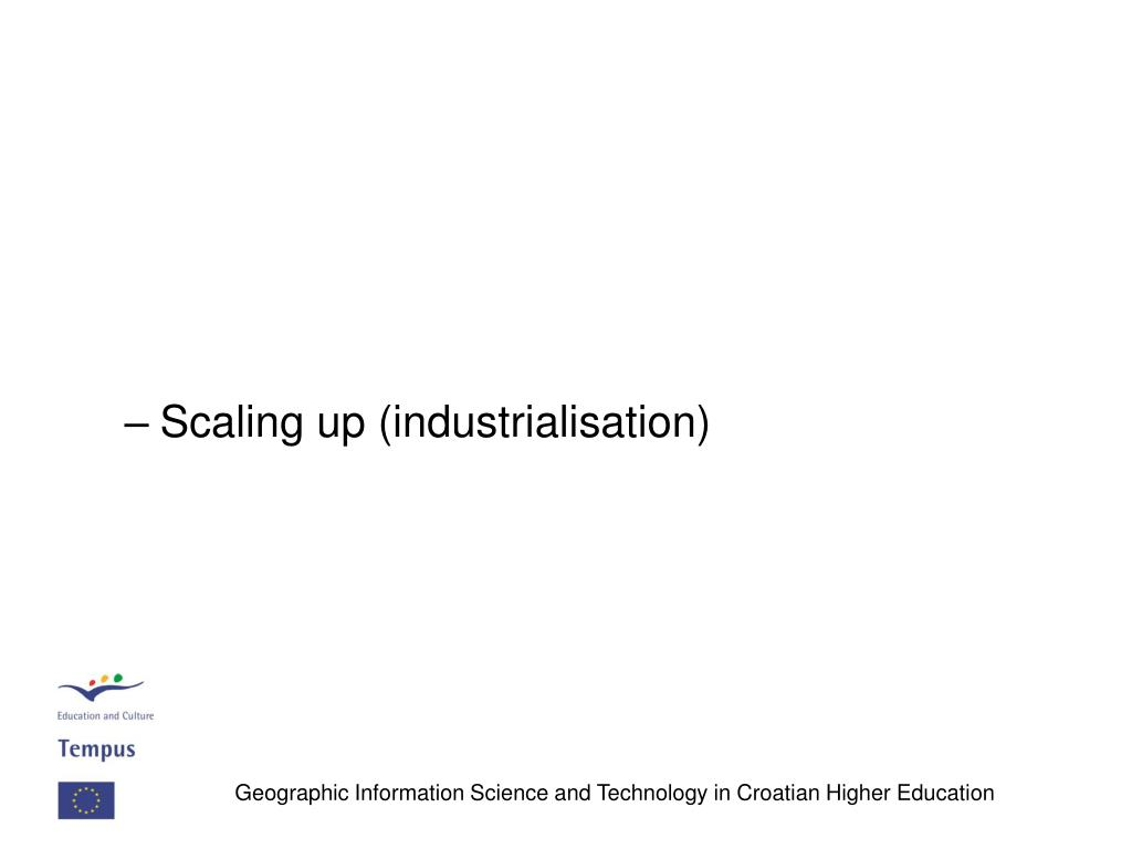 Scaling up (industrialisation)