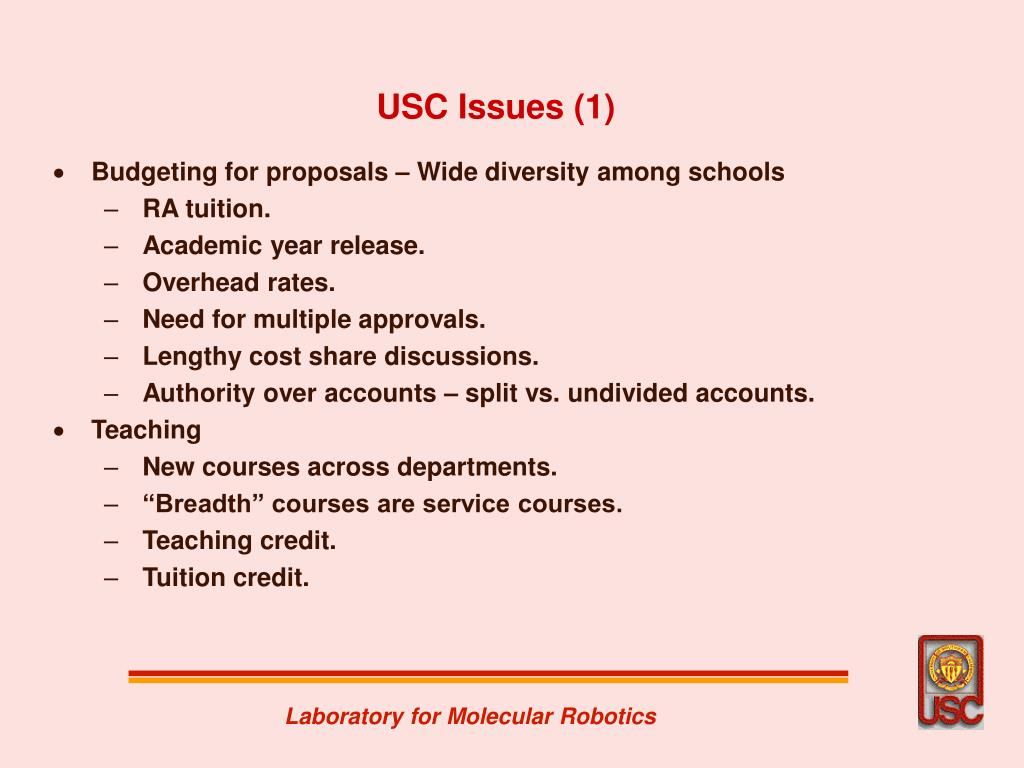 USC Issues (1)