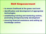 skill empowerment