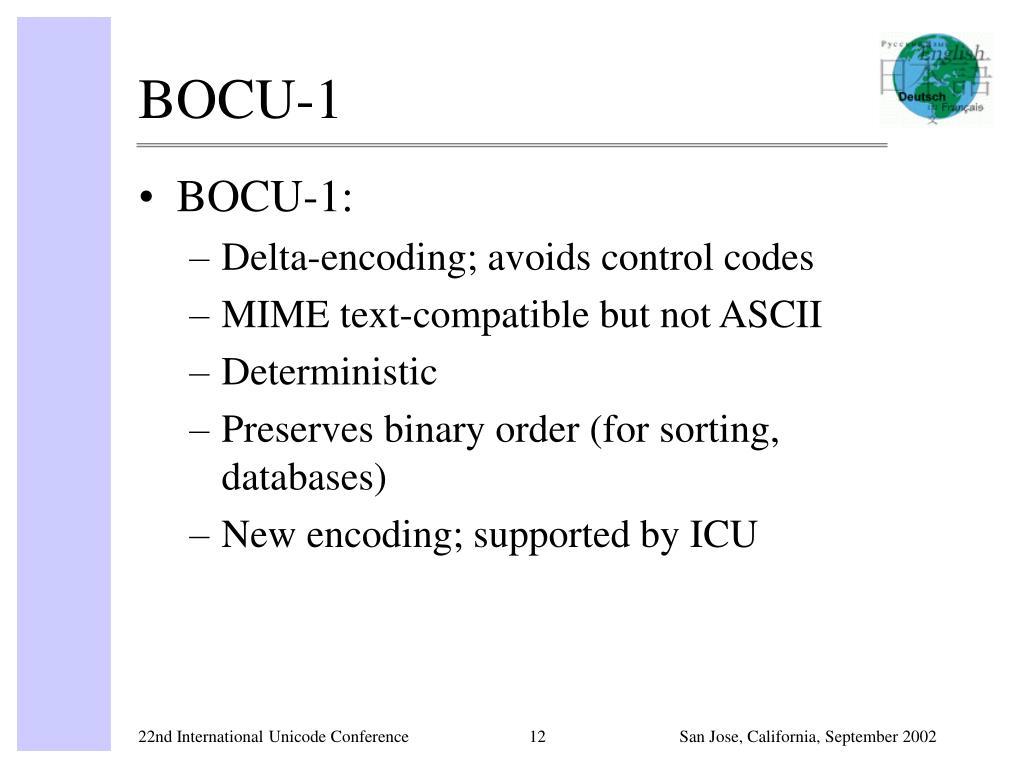 BOCU-1