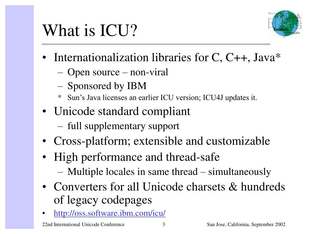 What is ICU?