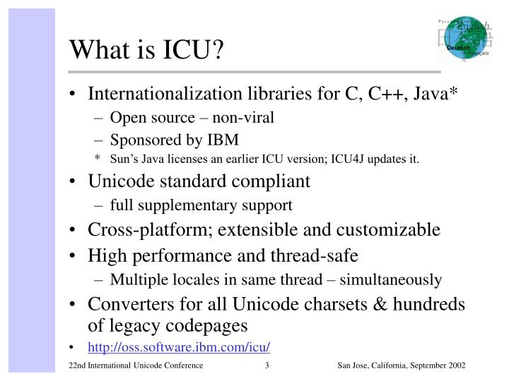 What is icu