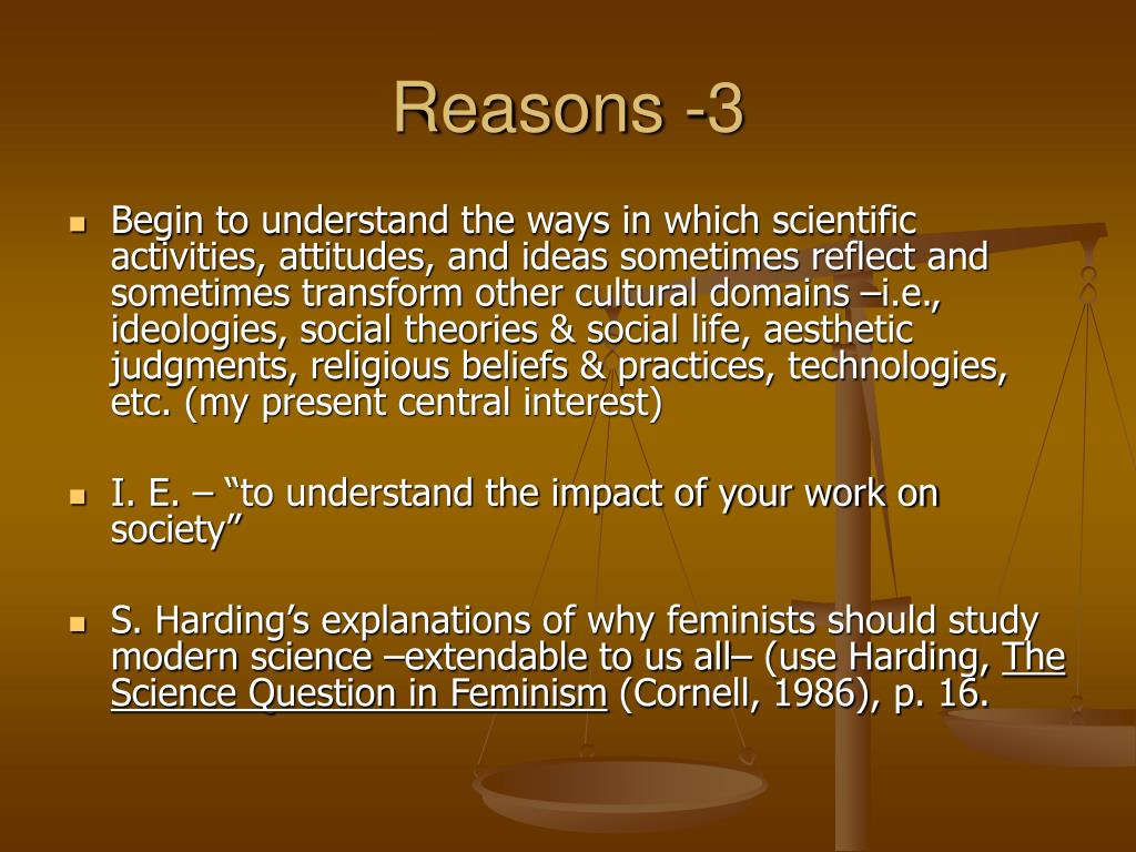 Reasons -3
