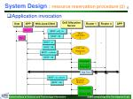 system design resource reservation procedure 2