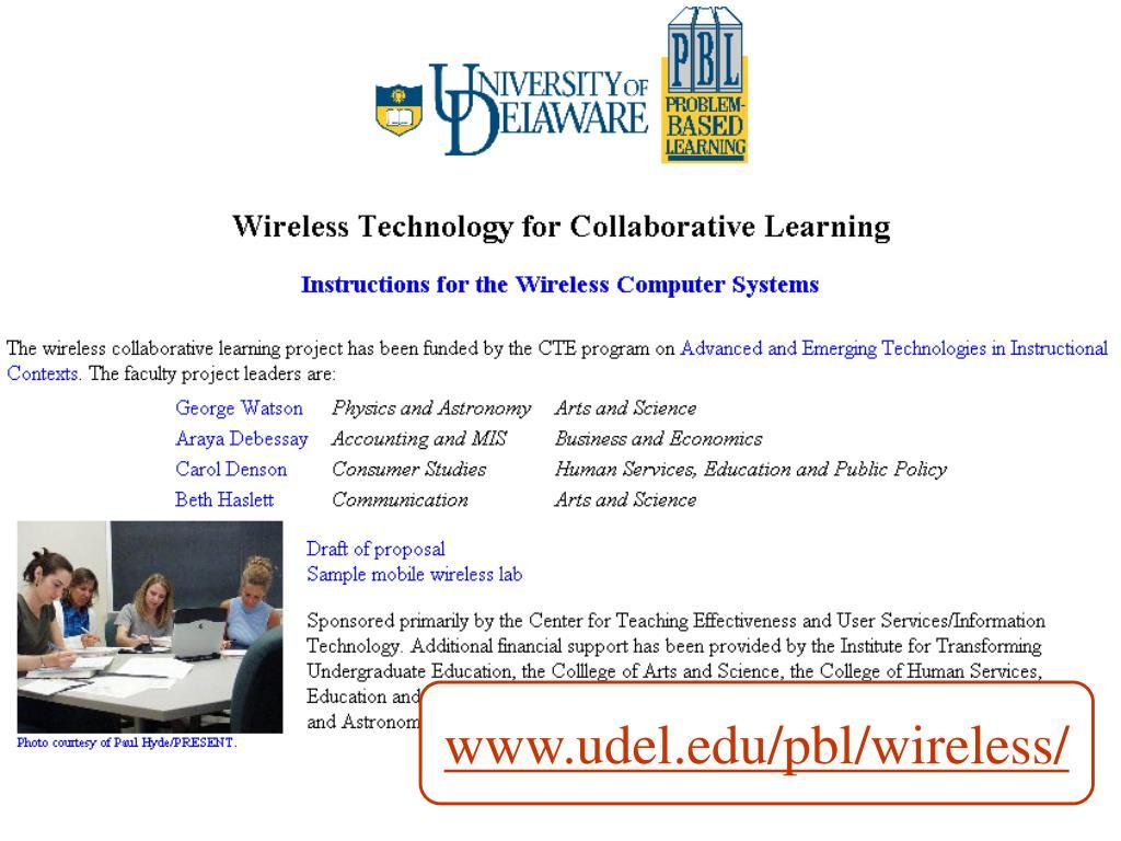 www.udel.edu/pbl/wireless/