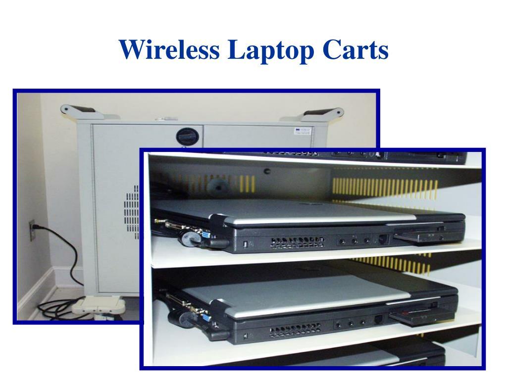 Wireless Laptop Carts