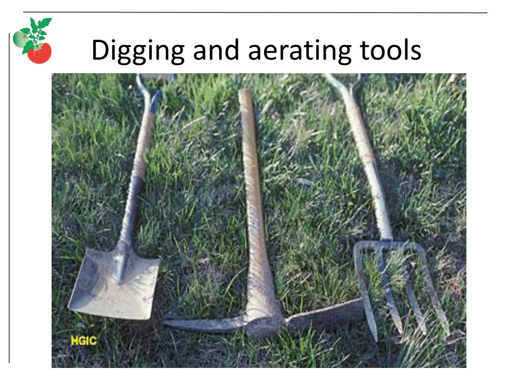 Digging and aerating tools