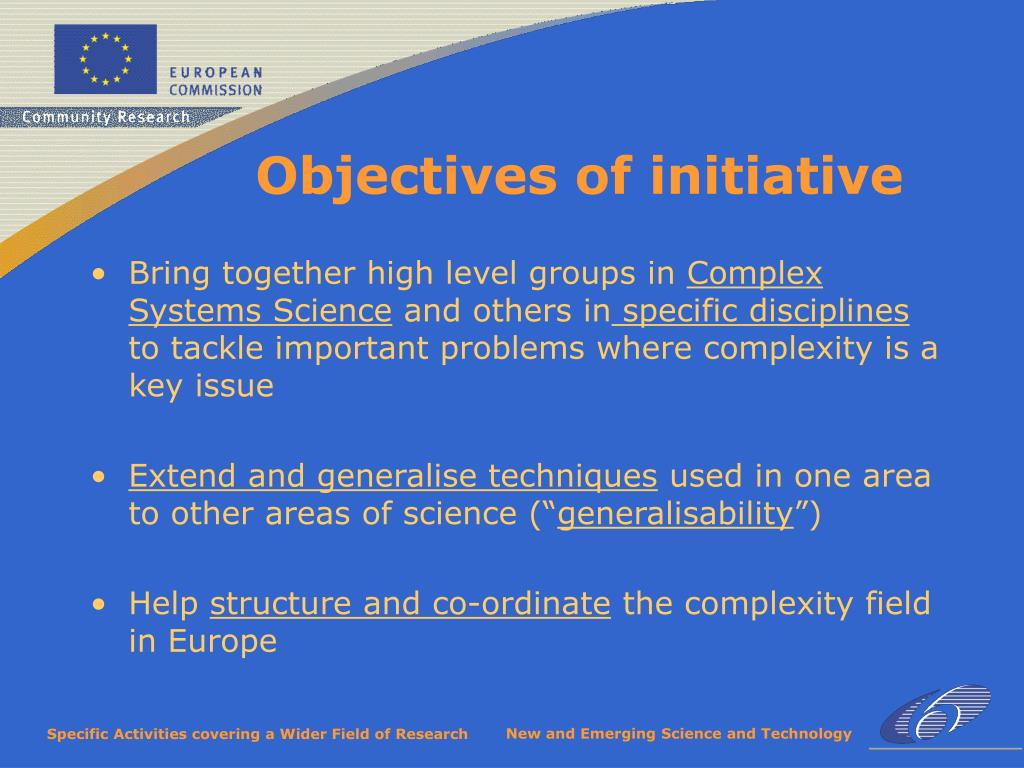 Bring together high level groups in