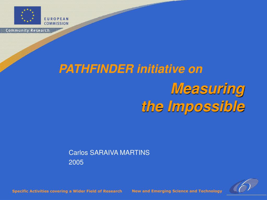 PATHFINDER initiative on