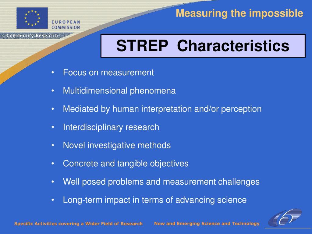 Focus on measurement
