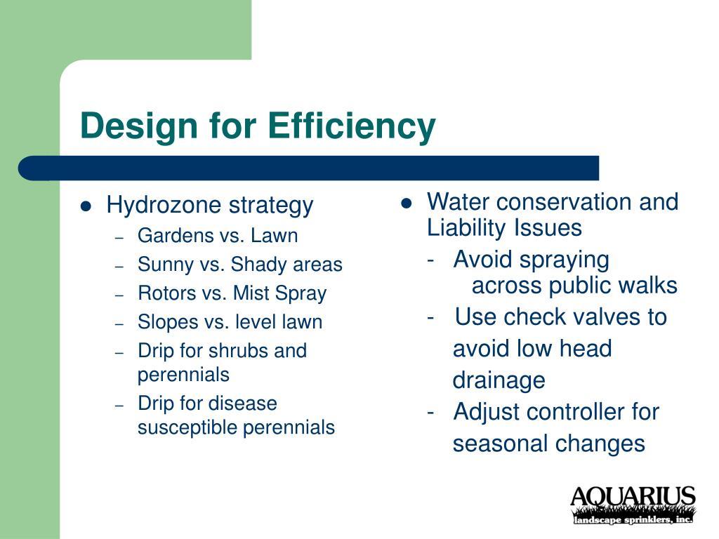 Hydrozone strategy