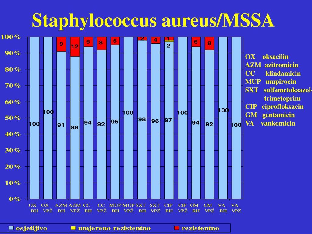 Staphylococcus aureus/MSSA