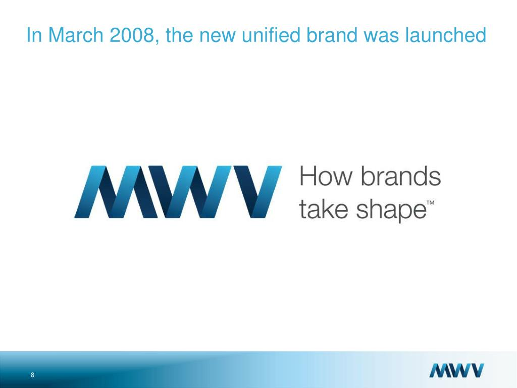In March 2008, the new unified brand was launched