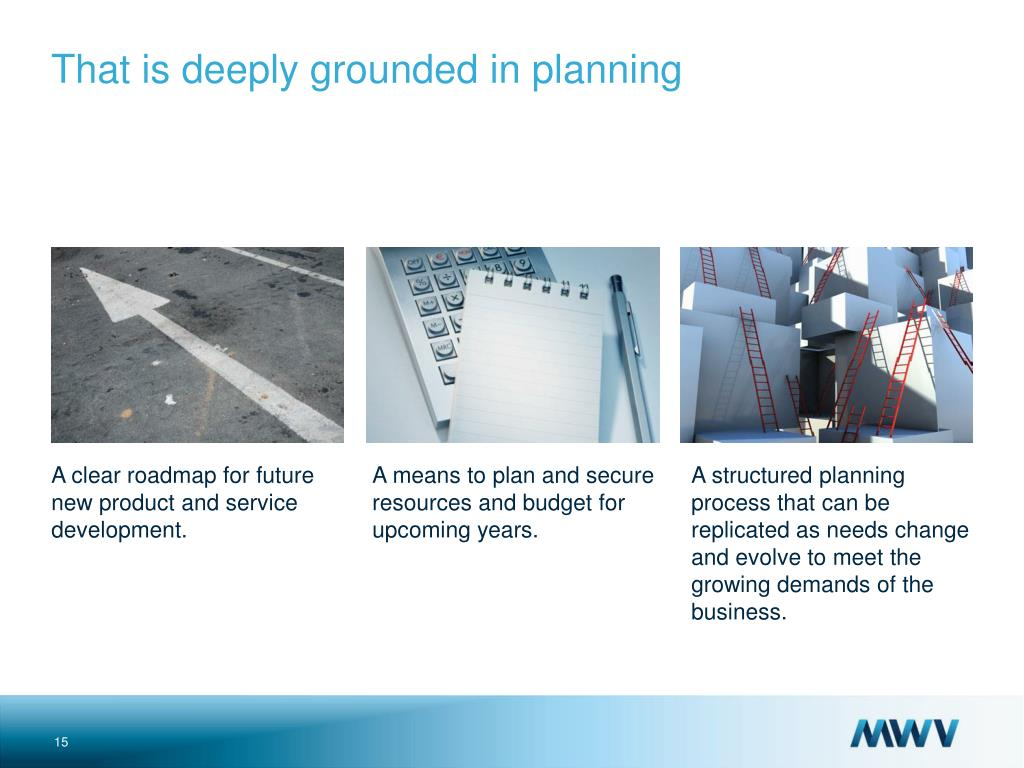 A means to plan and secure resources and budget for upcoming years.