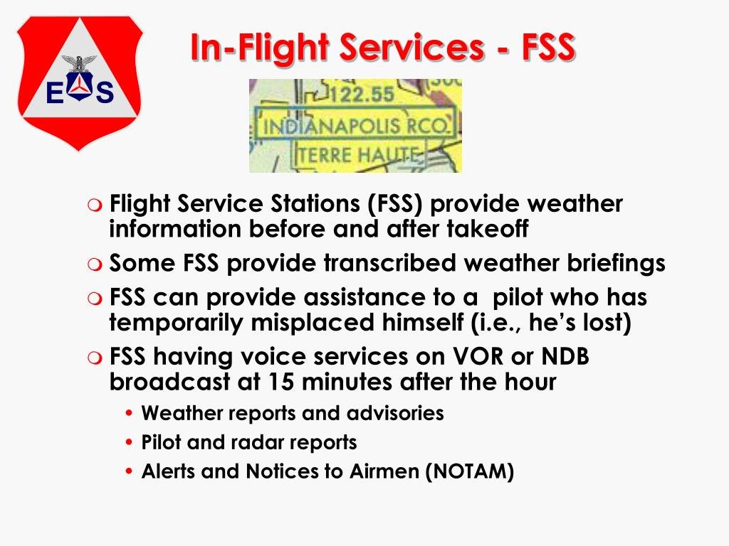 In-Flight Services - FSS