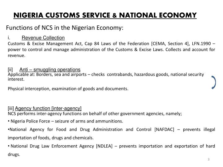 Nigeria customs service national economy l.jpg
