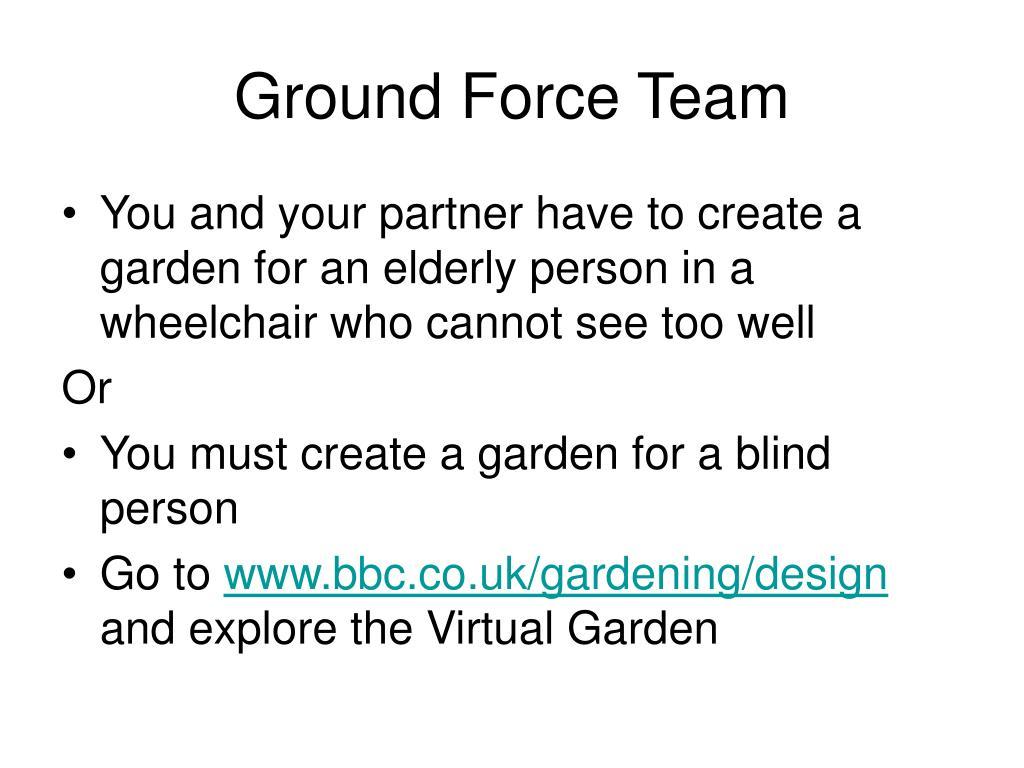 Ground Force Team