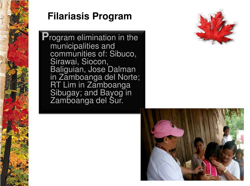 Filariasis Program