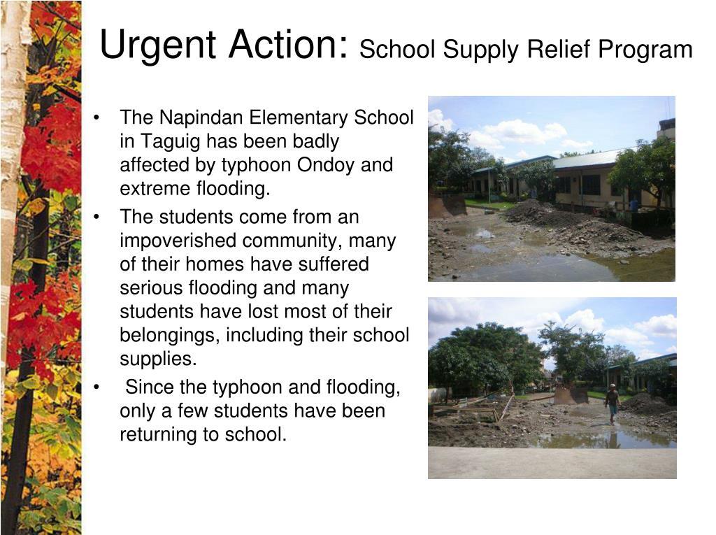 Urgent Action: