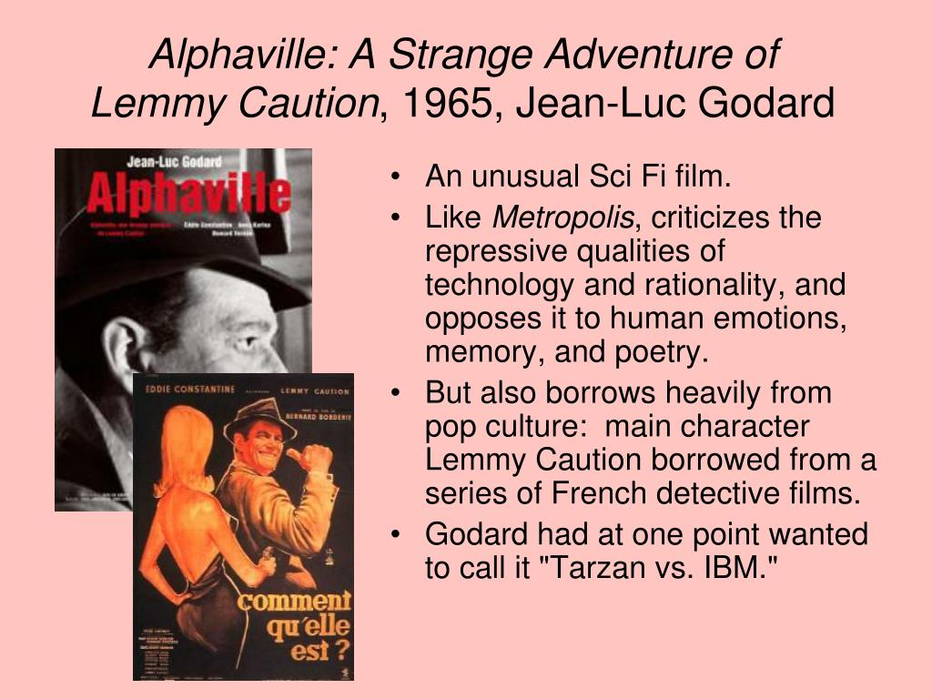 Alphaville: A Strange Adventure of Lemmy Caution