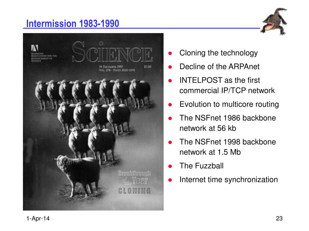 Intermission 1983-1990
