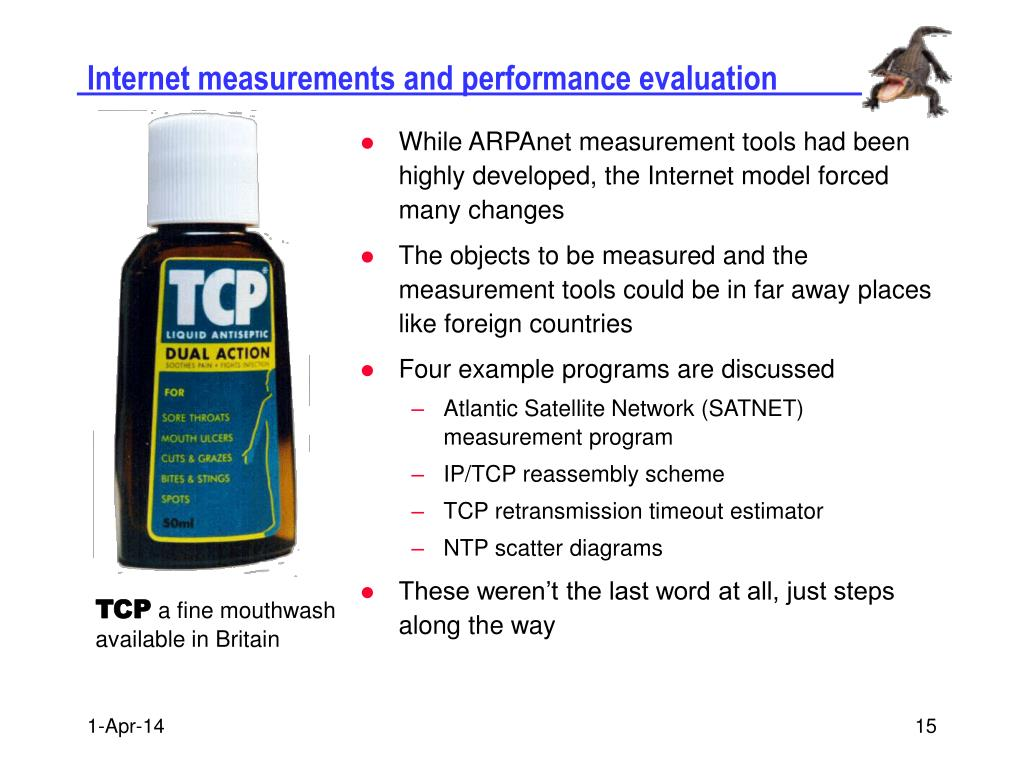Internet measurements and performance evaluation