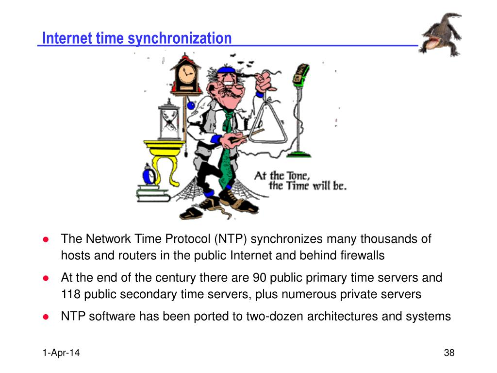 Internet time synchronization