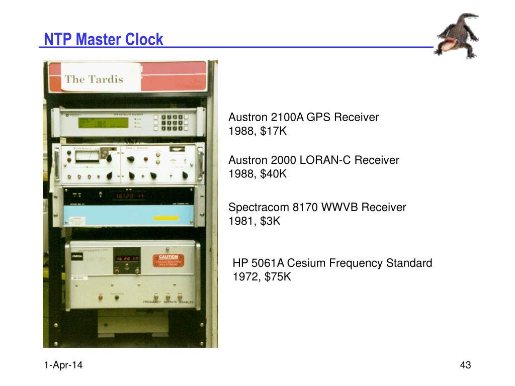 NTP Master Clock