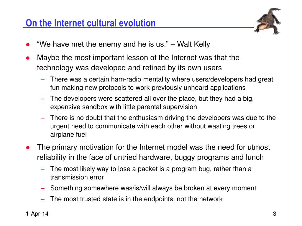 On the Internet cultural evolution