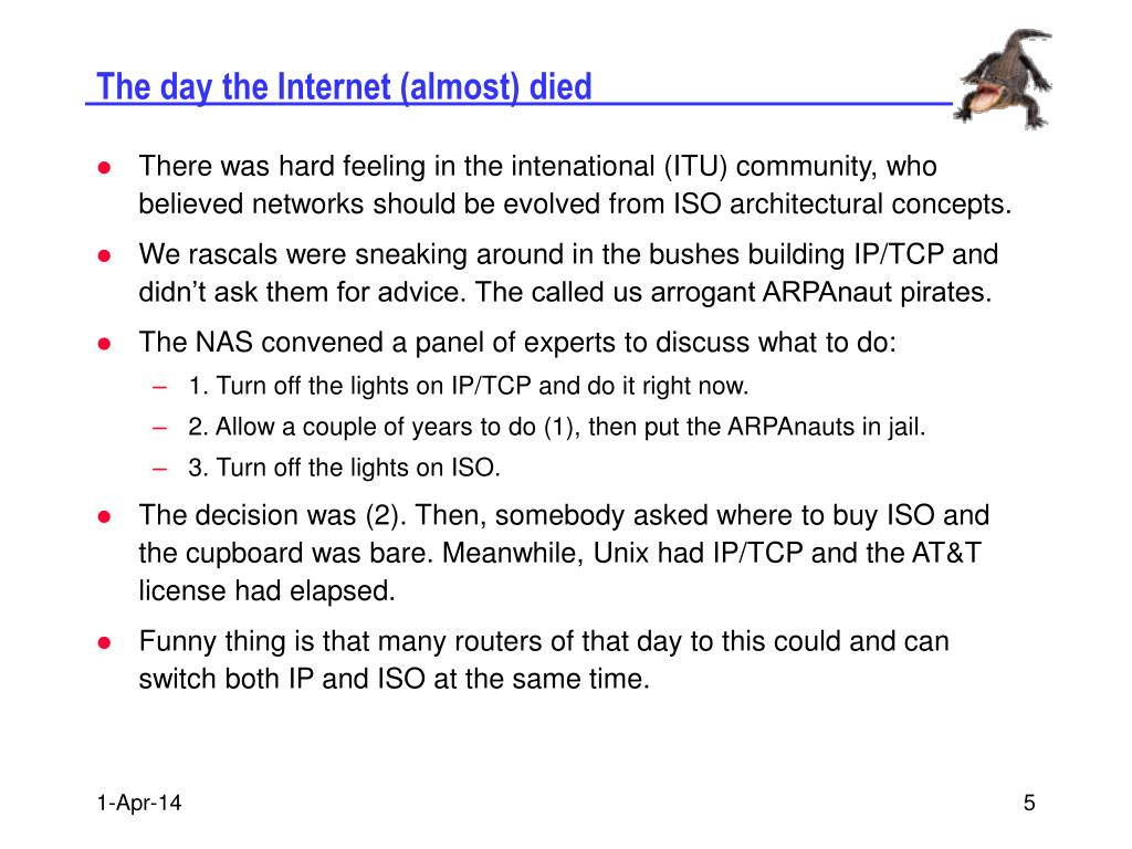 The day the Internet (almost) died