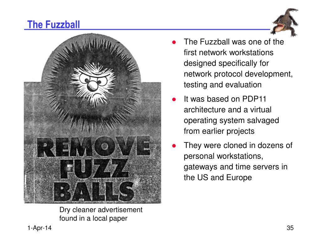 The Fuzzball