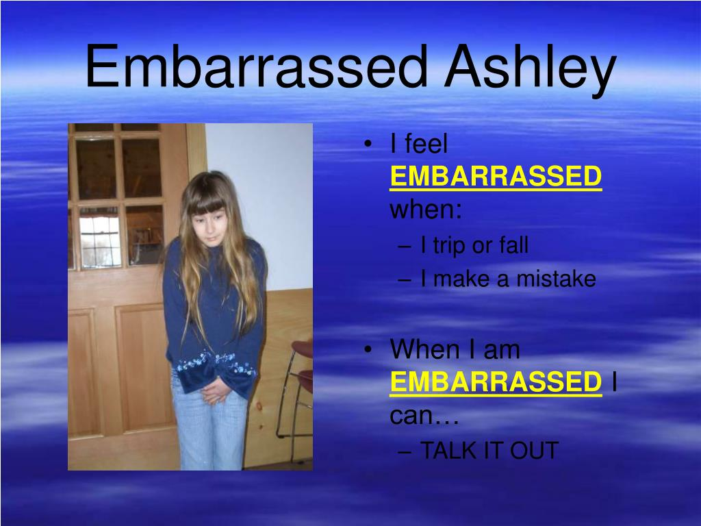 Embarrassed Ashley