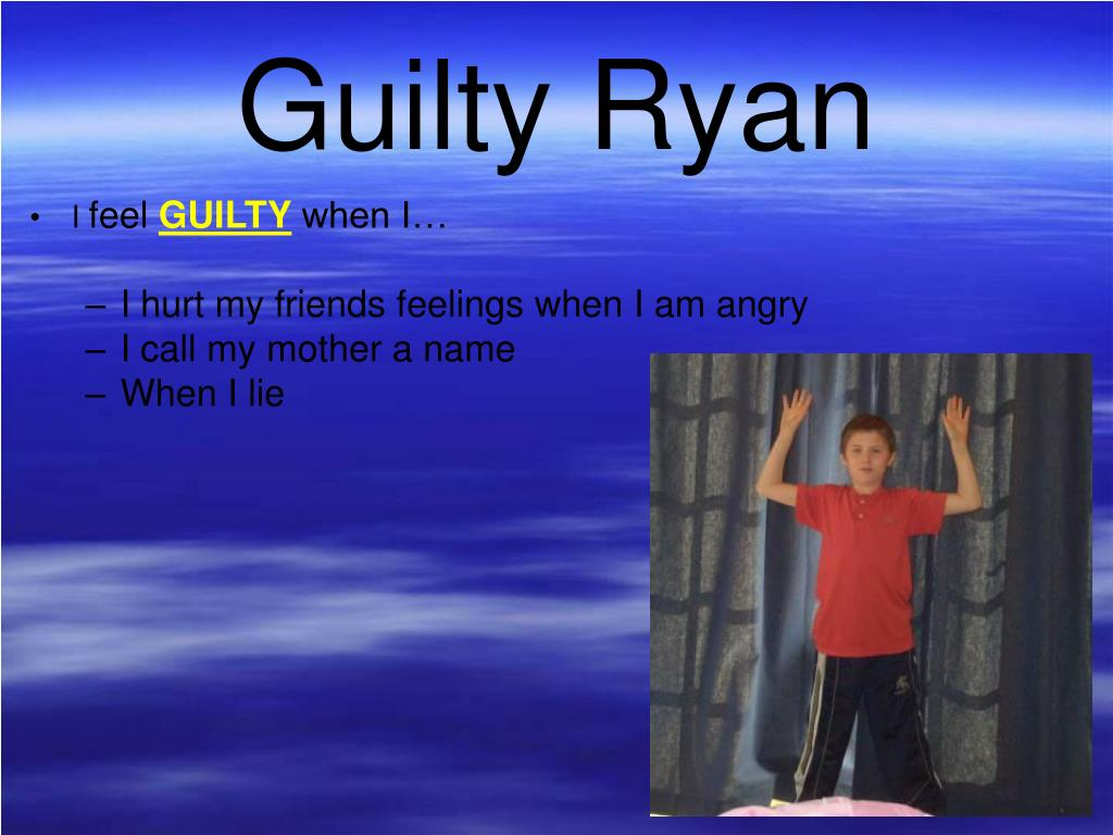 Guilty Ryan