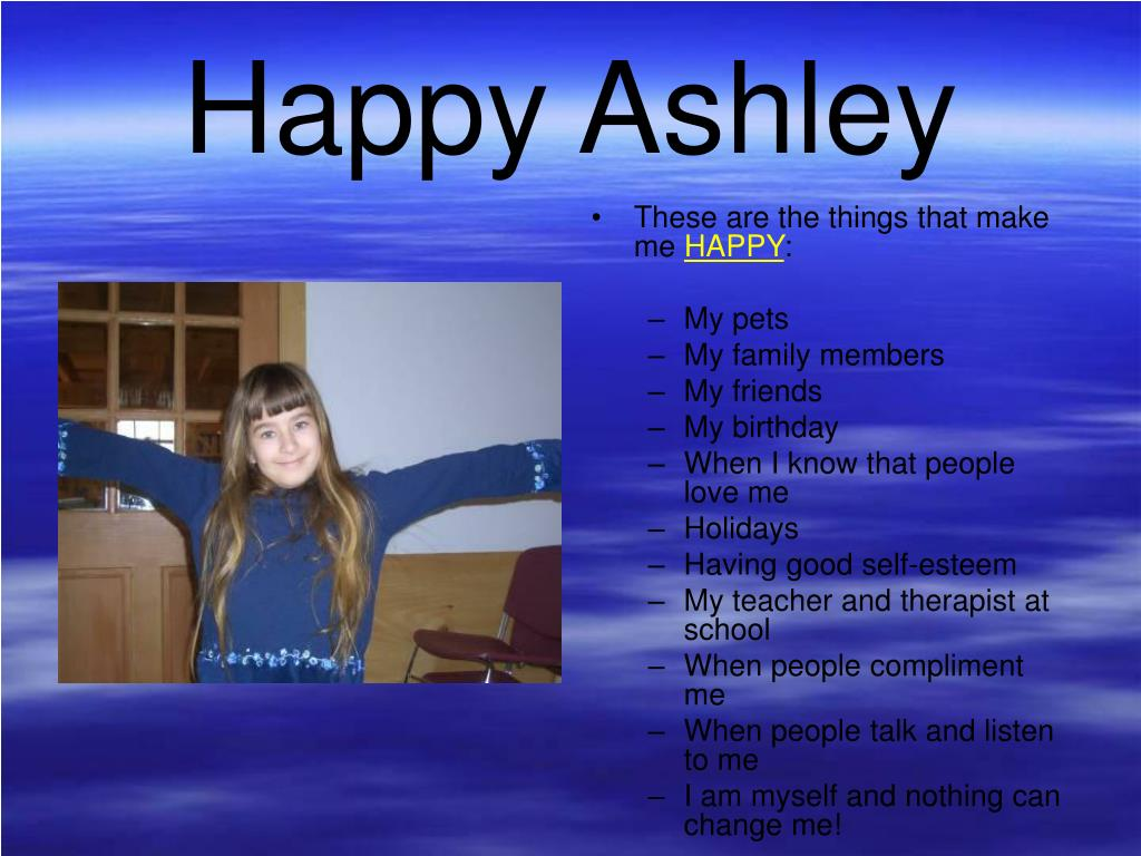 Happy Ashley