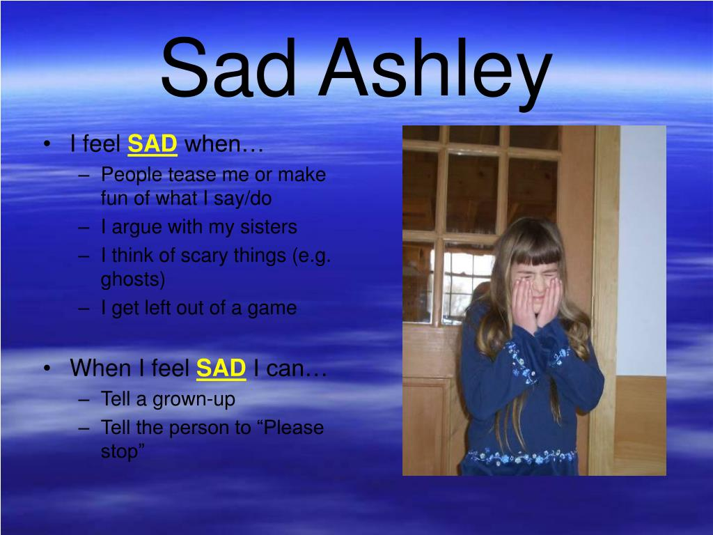 Sad Ashley