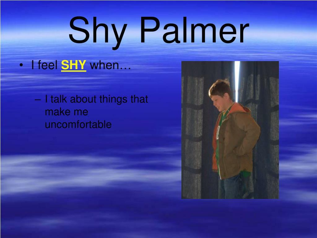 Shy Palmer