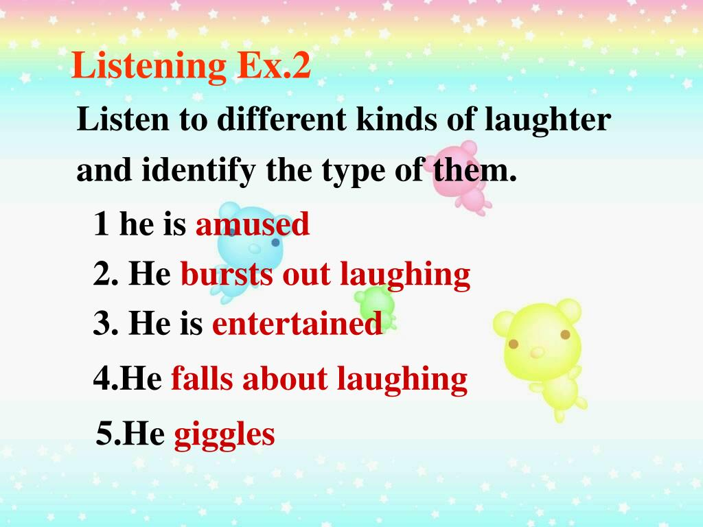 Listening Ex.2