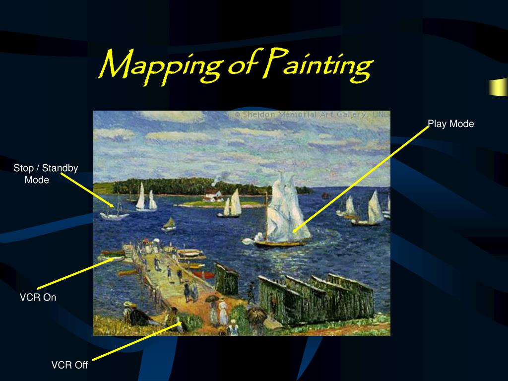 Mapping of Painting