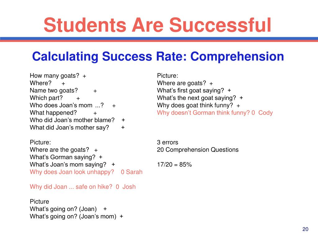Students Are Successful