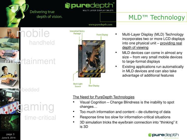 MLD™ Technology