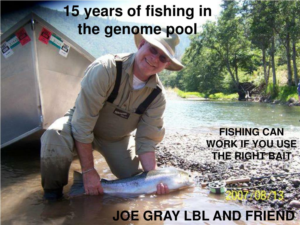15 years of fishing in the genome pool