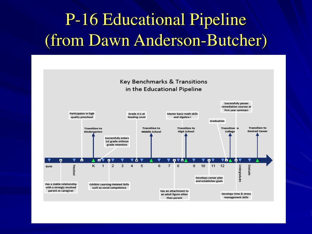 P-16 Educational Pipeline